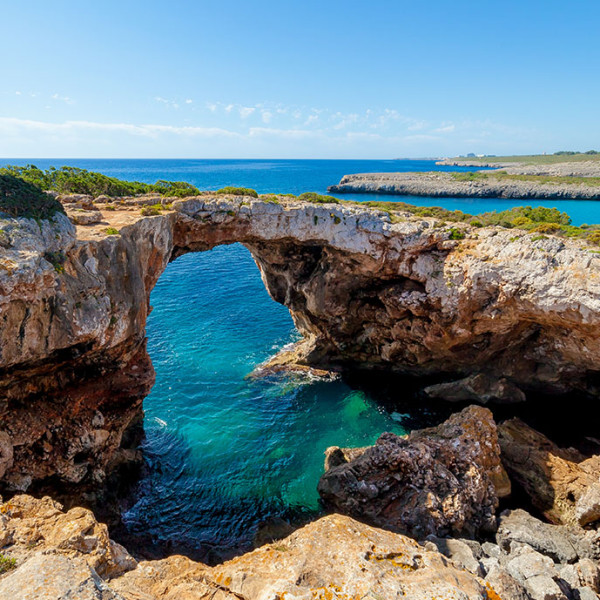 Cala Varques, un paraiso natural.
