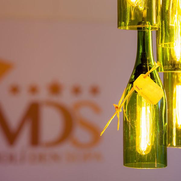 Impresionante despliegue de luz y color en velas TLC - Molí d'en Sopa