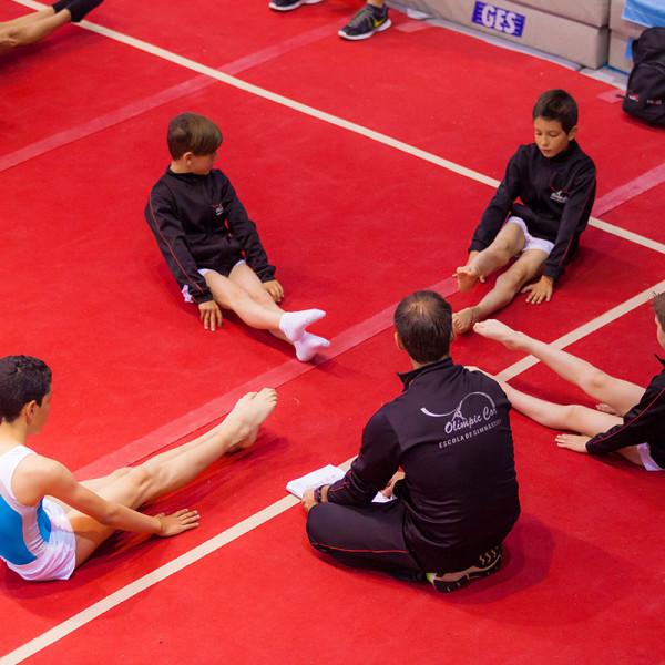 9 medallas para el equipo masculino del Olimpic Cor - Campeonato de Baleares por aparatos, 2016