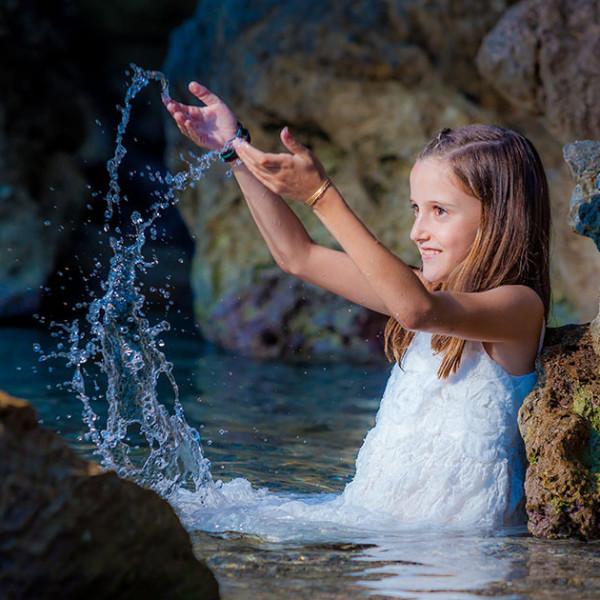 Pre-Comunión con Andrea - Fotografía Infantil Profesional
