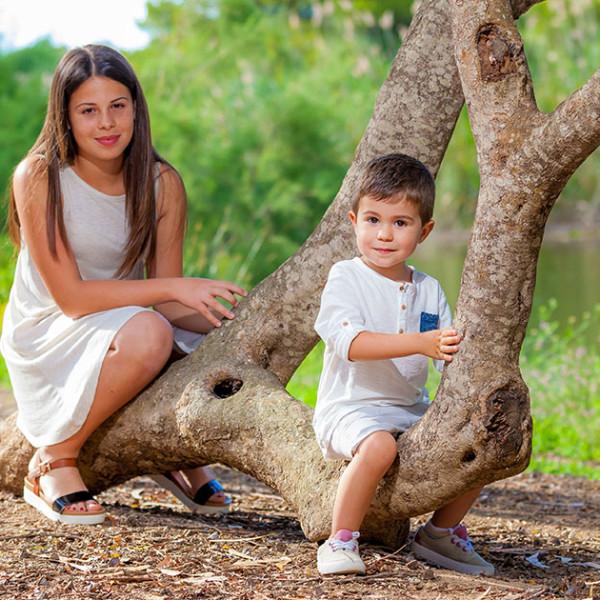 Sesión con Joel y Paula - Fotografía Infantil Profesional