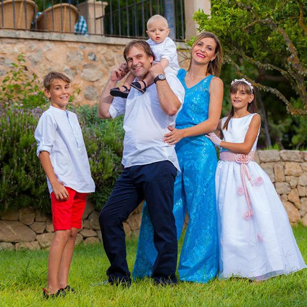 Miquel Angel, Caterina y Sebastiá - 2 Comuniones y 1 Bautizo
