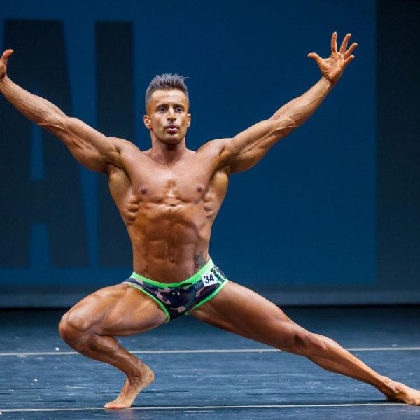 Paco Rus, excepcional puesta en escena - Fotografía Profesional de Culturismo & Fitness