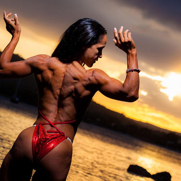 Sesión con Yeni, la preciosa atleta Body Fitness - Fotografía Profesional