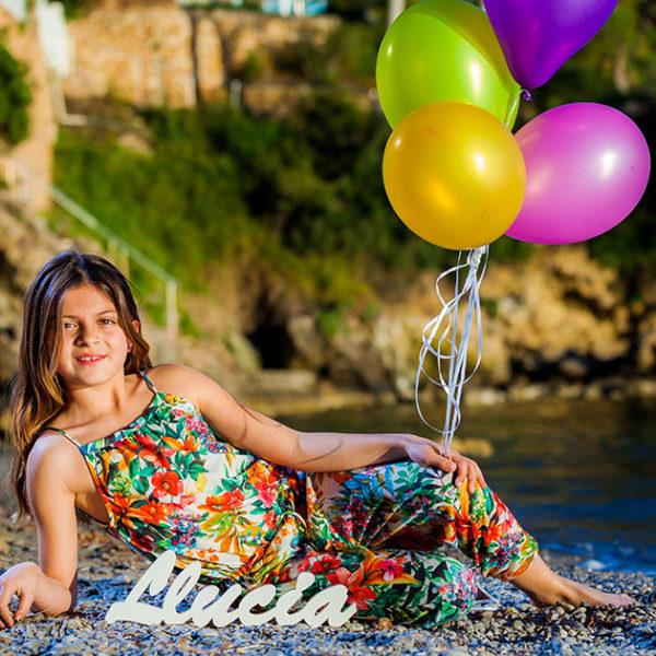 Precomunión con Llucía - Fotografía Profesional Infantil
