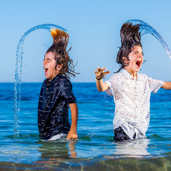 Sesión con Tomeu y Sion - Fotografía Profesional Infantil