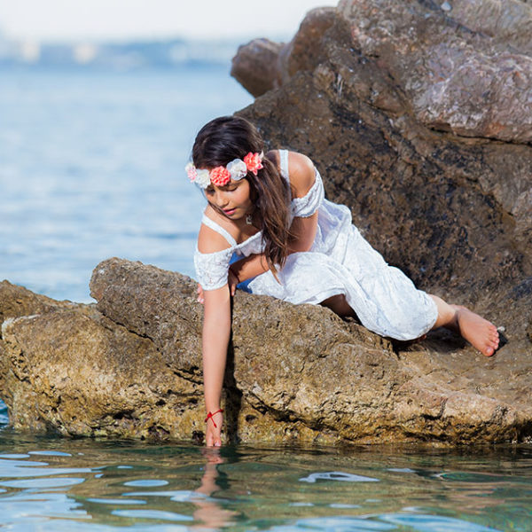 Previo Comunión Helen Julieth - Fotografía Profesional Infantil