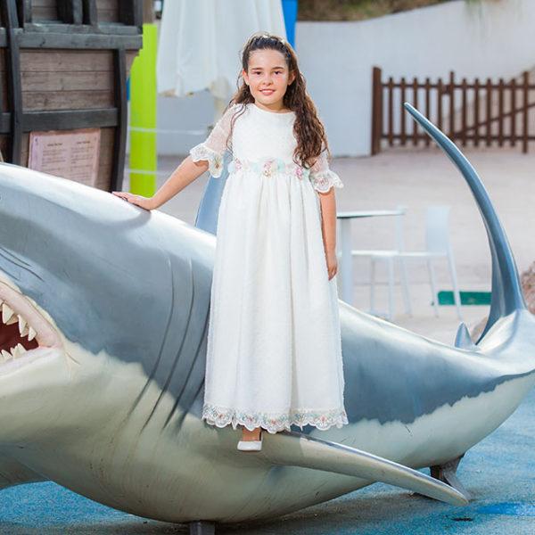Comunión Adhara en Palma Aquarium - Fotografía Profesional Comuniones