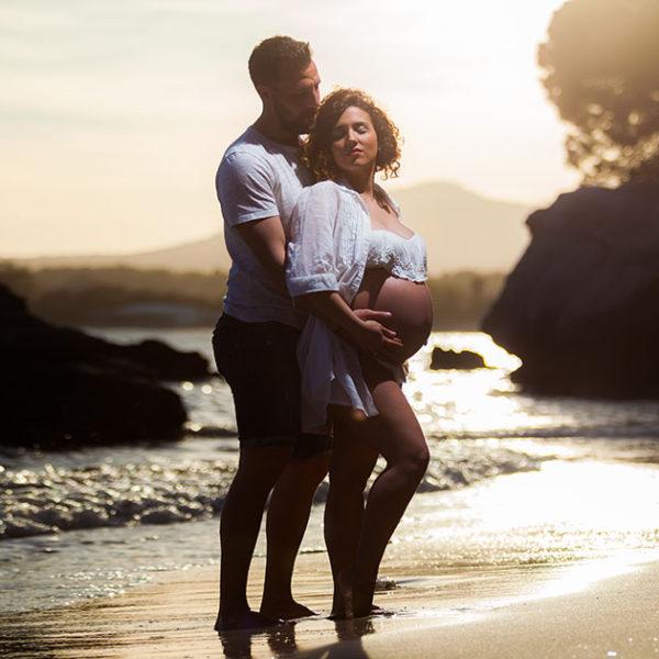 Book Embarazo Laura y Germán - Fotografía Profesional Embarazo