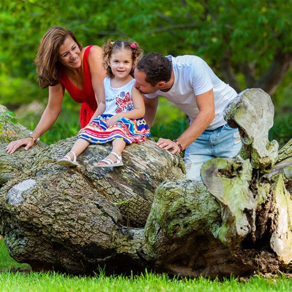 Jésica y familia - Book Profesionales de Familias